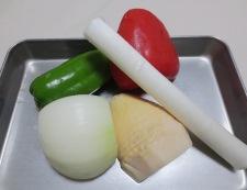 鶏肉の辛味噌炒め 材料②