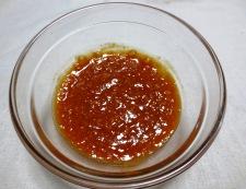 鶏肉の辛味噌炒め 調味料②