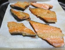 手作り塩鮭フレーク 調理①