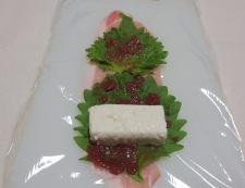 豚肉の梅しそ豆腐巻き 調理②