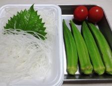 和膳 イカおくらのわさびポン酢 材料おくら