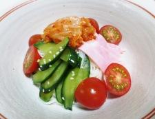 トマトキムチ素麺 調理③