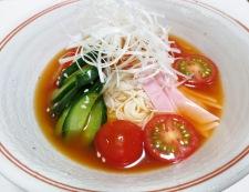 トマトキムチ素麺 調理④