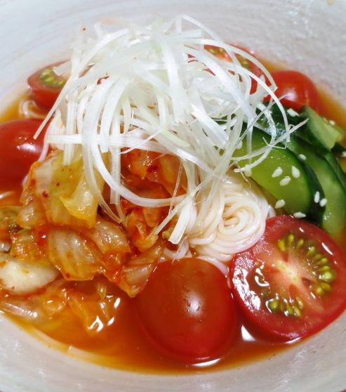 トマトキムチ素麺 B