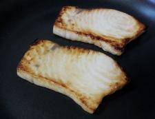 めかじきバター醤油ソース 調理②
