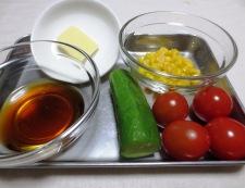 めかじきバター醤油ソース 材料ソース