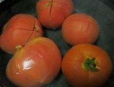 トマトソース 調理①