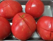 トマトソース 【下準備】②