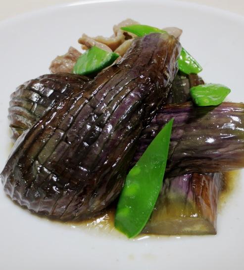 ナスと豚肉の生姜煮 B