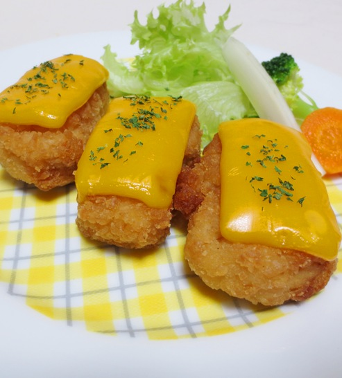 唐揚のチーズ焼き B