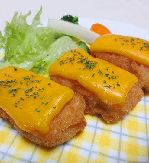 唐揚のチーズ焼き 大