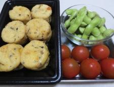 枝豆とがんもどきの冷やし鉢 材料