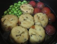 枝豆とがんもどきの冷やし鉢 調理②