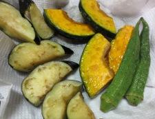 夏野菜のキーマカレー 調理④