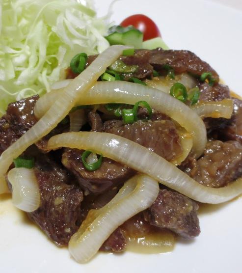 牛すじの味噌生姜炒め 大改