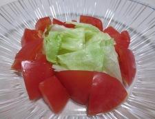 トマトとナスの冷しゃぶ 柚子胡椒ポン酢 調理③