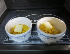 バターコーン 調理②