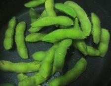 翡翠ナスと枝豆の煮浸し 【下準備】②