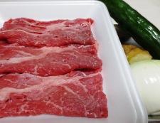 牛丼すりおろしきゅうり添え 材料