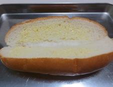 カレーキャベツのホットドッグ 調理①