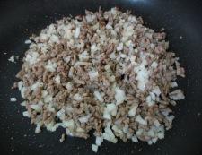 茄子の肉味噌のせ 調理③