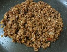 茄子の肉味噌のせ 調理⑤