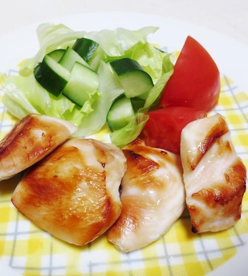 鶏むね肉の西京焼き 大