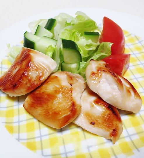 鶏むね肉の西京焼き B