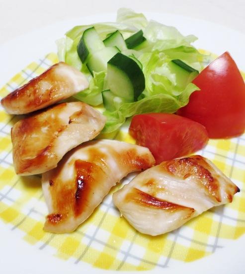 鶏むね肉の西京焼き 拡大