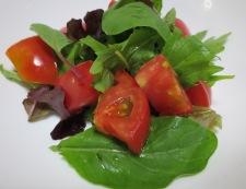グレープフルーツとソーセージのサラダ 調理②