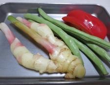 イカと新生姜の炒め 材料②