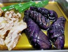 茄子と豚肉の南蛮漬け 調理④