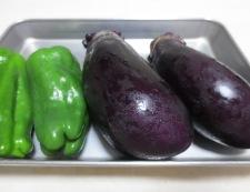 茄子と豚肉の南蛮漬け 材料①