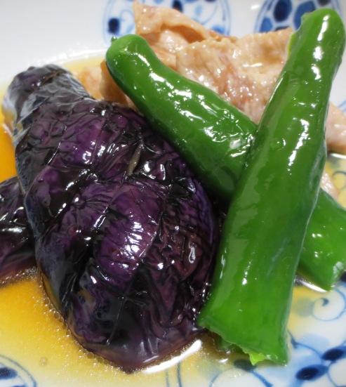 茄子と豚肉の南蛮漬け 拡大