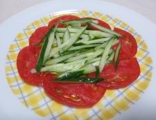 蒸し茄子のバンバンジー風 調理②