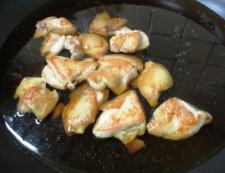 鶏豆腐 調理③