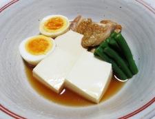 鶏豆腐 調理⑥