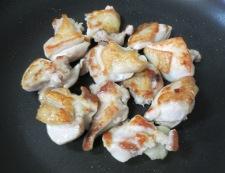鶏豆腐 調理①