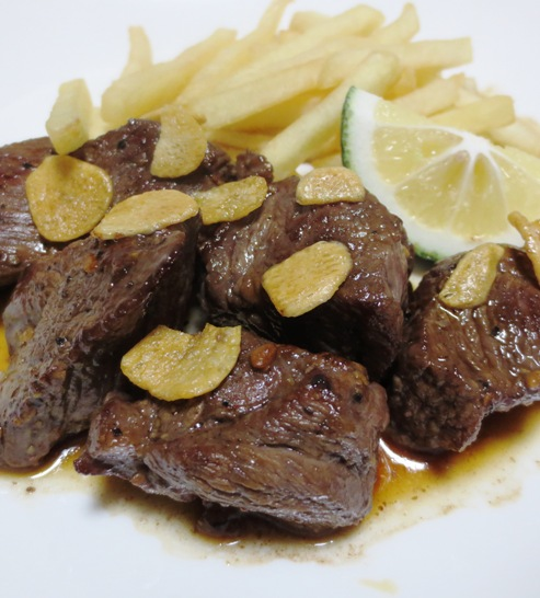 かぼす醤油のひとくちビーフステーキ B