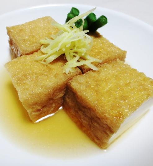 絹揚げ豆腐の炊いたん 大