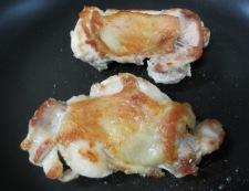 チキンのガーリックしょうが焼き 調理②