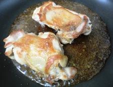チキンのガーリックしょうが焼き 調理③