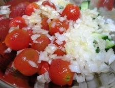 ミニトマトときゅうりの和風マリネ 調理②