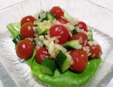 ミニトマトときゅうりの和風マリネ 調理④