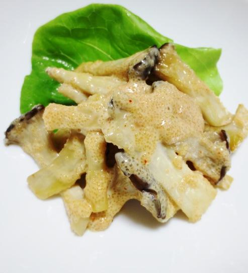 エリンギの明太マヨサラダ B