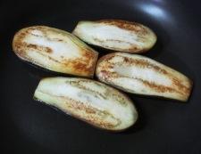 お茄子の田楽 調理③
