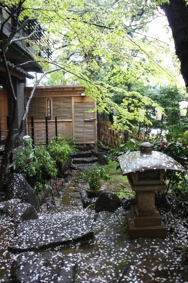 2014上野花見 伊豆栄お庭