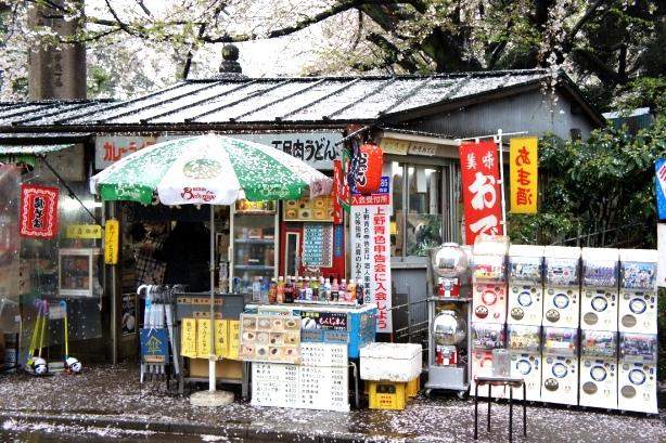 2014上野花見 東照宮第一売店7
