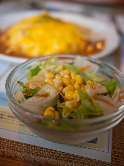 掛川 竹とんぼ ランチのセットのサラダ