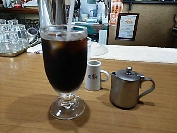 茶房 六軒京 アイスコーヒー